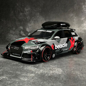 GT Spirit 1/18 Audi RS6 C7 Wagon DTM Car model with Roof Box Camouflage GT321