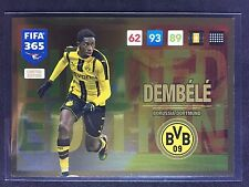 2016-17 Panini Adrenalyn FIFA 365 Ousmane Dembele Limited Edition rookie card