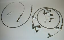 "Chrysler Mopar 727 24"" Throttle & Kickdown Cable Carb Bracket Linkage Springs"