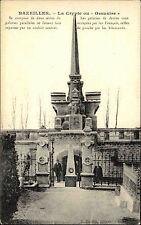 Bazeilles France Ardennes AK~1910 La Crypte ou Ossuaire Krypta Beinhaus Ossuary
