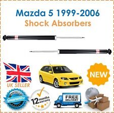 For Mazda 5 1999-2006 Two Rear Shock Absorbers Set x2 Pair Shockers Dampers New