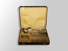 ménagère métal argenté complète 38 pièces