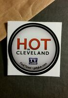 "HOT IN CLEVELAND TV LAND TITLE NAME SMALL 1.5"" TV GETGLUE GET GLUE STICKER"