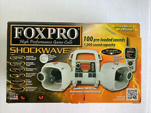 Foxpro Shockwave Digital Game / Predator Call Factory Sealed New!