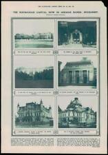 1916-Antiguo Palacio de captura de impresión Rumanía Bucarest alemán Ministerio de Guerra (141)