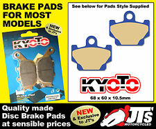 FRONT SET OF DISC BRAKE PADS TO SUIT YAMAHA SR250 SR 250 Classic 21L 96-00