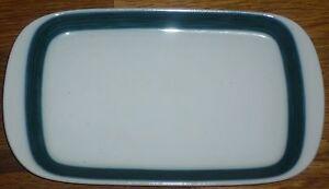 1 Butterplatte   für 250 g Butter  Arzberg  Form 2500  DELPHI  3868 Scharffeuer