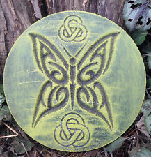 PLASTIC MOLD plaque Gothic Wicca Celtic mold decorative stepping stone mould