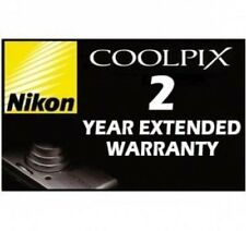NIKON 2 YEAR WARRANTY for CoolPix L120 L24 P300 P500
