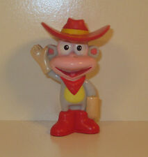 """2003 Boots the Monkey 3"""" Mattel PVC Plastic Action Figure Dora The Explorer"""
