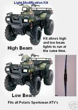 NEW UNIVERSAL POLARIS SPORTSMAN 3-WAY HIGH LOW BEAM HEADLIGHT BULB MOD 1993-2018
