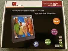"Pix-Star FotoConnect XD Wi-Fi 10"" Digital Picture Frame - Black"