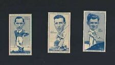 1940'S TURF SLIDES GOLF CARD LOT X 3