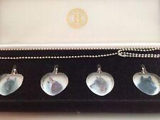 Bradford Exchange Fine Jewellery, Crystal Mystic Wolf Motifs BNIB Necklace, Gift