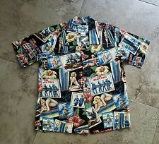 Vintage Reyn Spooner The Beach Boys Surfer Girl Boy Shirt Size S