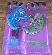 Tool Nampa Idaho Center Tour Band Poster /500 6/8/17 Adam Jones *DAMAGED*