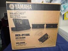 AMAZING YAMAHA MUSICCAST2 MCX-ZP2ABL BUNDLE MCX-RC100 QTY 2 MCX-A300 NEW AWESOME