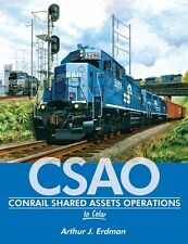 Conrail Shared Assets Operations In Color / railroad / trackside / train