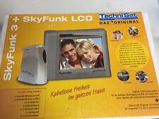 Satellite TECH skyfunk LCD + skyfunk 3 PORTABLE LCD Monitor avec intégré Funke