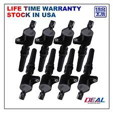 Set of 8 New Ignition Coils on Plug Packs Fit Ford/Lincoln/Mercury V8 V10 DG508