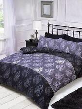 Parures et housses de couette violettes avec un motif Floral pour chambre