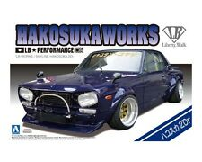 Aoshima 1/24 Nissan Hakosuka Works 2 Door LB Performance PLASTIC MODEL KIT 1149