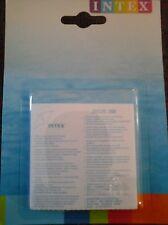 """6 rustines transparentes,  kit de réparation pour piscine rustine """" INTEX """"."""