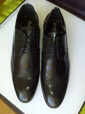 Firetrap black formal shoes size 9 new