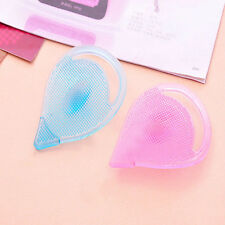Popular Facial Care Cleansing Silicone Gel Soft Pad Face Blackhead Remover Brush