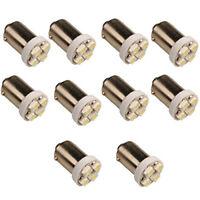 10 x T11 BA9S 4 LED 3528 SMD Auto Ampoule H5W Voiture Lampe Blanc 5000K DC 12V U