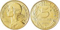 5  CENTIMES  MARIANNE  ,  2000  ,  SUPERBE  A  FLEUR  DE  COIN