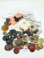 Vintage Buttons MIXED LOT OF BUTTONS for Crafts, Jewelry Making, Resale