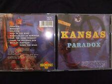 CD KANSAS / PARADOX / LIVE USA 1982 / RARE /