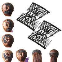 Peignes à Cheveux Femme Alliage Clips pour Accessoires de Cheveux Côté Peigne
