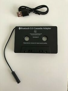 Bluetooth 5.0 Music Car Audio Receiver Cassette Player Adapter MP3 Converter UK