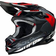 2017 UFO Onynx Motocross MX Enduro Helmet - Nos White Black Red