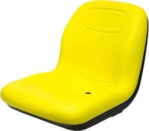 "John Deere 18.80"" High Back Seat Fits GT225 GT235 X300 LX172 OEM# AM131157"