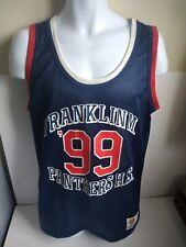 Franklin Marshall Varsity Panthers High School 99 Basketball Shirt/Vest Adult XL