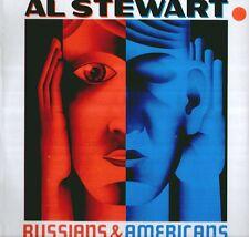 """AL STEWART """" RUSSIANS & AMERICANS """"  LP SIGILLATO STAMPA ITALIANA RARO"""