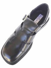 ITALIAN MEN SANDAL WITH  SIDE BUCKLED LAST L0ONG DRESSY LUXURYBY GIVALDI #  9566