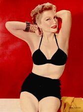 Anne Baxter 1953 Vintage Pinup Litho John Engstead Photo Publicity Promo COA
