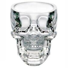 New Crystal Skull Head Vodka Whiskey Shot Glass Cup Drinking Ware Home Bar TL