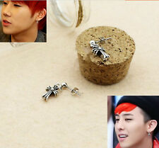 G-Dragon GD BIGBANG BB Infinite Kim SungGyu Cross EARRINGS KPOP NEW FR569