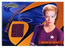 "SEVEN OF NINE ""COSTUME CARD C25A"" STAR TREK 40TH ANNIVERSARY"