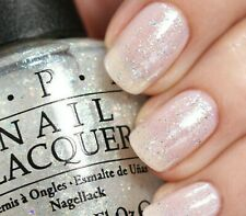 OPI MAKE LIGHT OF THE SITUATION White Holographic Glitter Nail Polish T68 0.5 oz