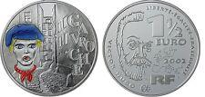 2002 France Large Proof Silver color 1.5 Euro Gavroche,Les Miserables/Hugo