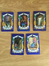 Lot of 6 Harry Potter Lenticular 3D Trading Picture Card Chocolate Frog 2001