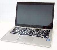NOTEBOOK ULTRABOOK SONY VAIO SVT1312V9ES I5-3317U 1.7GHZ SSD128GB 4GB WIN 10