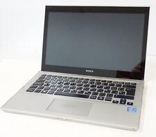PC PORTATILE ULTRABOOK SONY VAIO SVT1312V9 I5-3317U TOUCH SSD128GB 4GB WIN 10 P