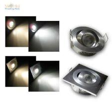LED Recessed Light Aluminium Swivel-Mounted Mini, Spotlight